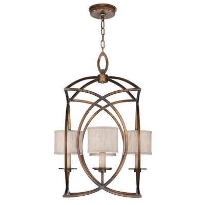 Cienfuegos 4-Light Foyer/Lantern Pendant Finish: Antique Bronze