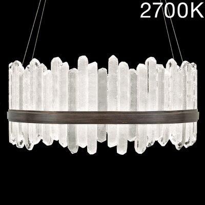 Lior 48-Light Crystal Pendant Finish: Bronze, Color Temperature: 2700