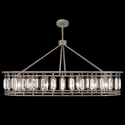 Westminster 14-Light Crystal Pendant Finish: Antique Dark