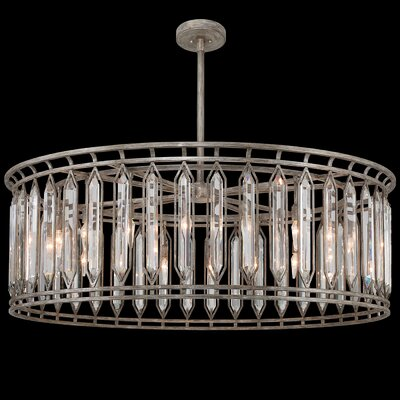 Westminster 18-Light Drum Pendant Finish: Antique Dark
