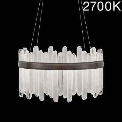 Lior 40-Light Crystal Pendant Finish: Bronze, Color Temperature: 2700
