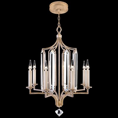 Westminster 8-Light Candle-Style Chandelier Finish: Gold