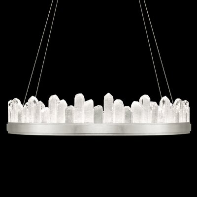 Lior 20-Light Crystal Pendant Finish: Silver