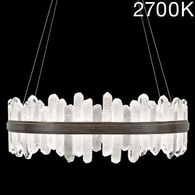 Lior Rock 48-Light Crystal Pendant Finish: Bronze, Color Temperature: 2700