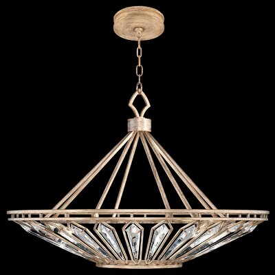 Westminster 13-Light Foyer/Lantern Pendant Finish: Gold