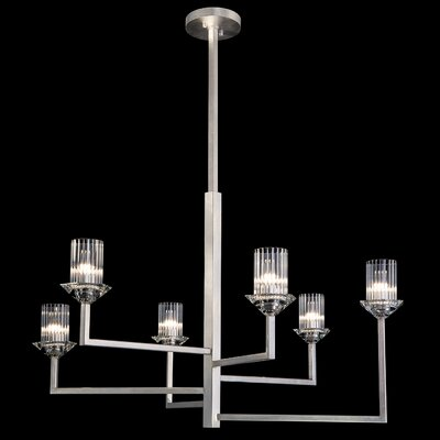 Neuilly 6-Light Sputnik Chandelier Finish: Silver