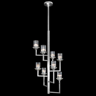 Neuilly 8-Light Sputnik Chandelier Finish: Silver
