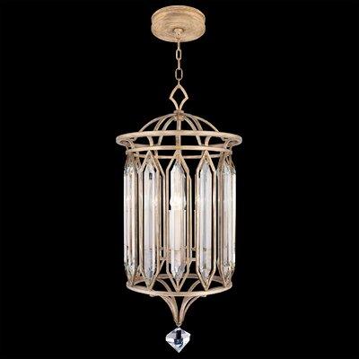 Westminster 4-Light Foyer/Lantern Pendant Finish: Gold