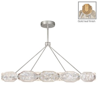 Allison Paladino 28-Light Pendant Finish: Gold