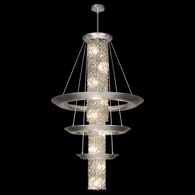 Celestial 21-Light Crystal Chandelier