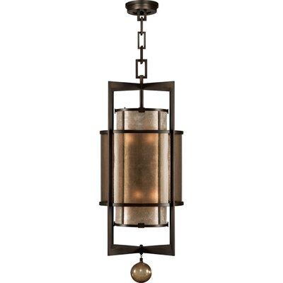 Singapore Moderne 6-Light Foyer Pendant Finish: Brown Patinated Bronze