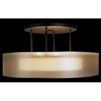 Quadralli 3-Light Drum Pendant