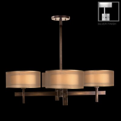 Quadralli 4-Light Drum Chandelier