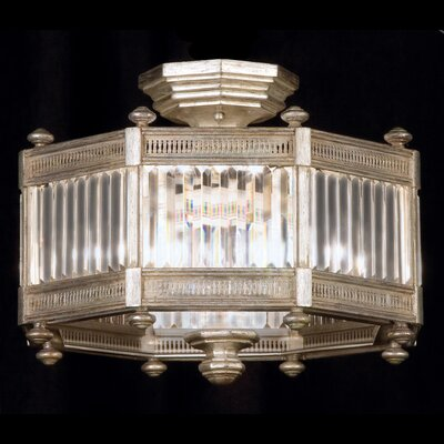 Eaton Place 3-Light Semi-Flush Mount