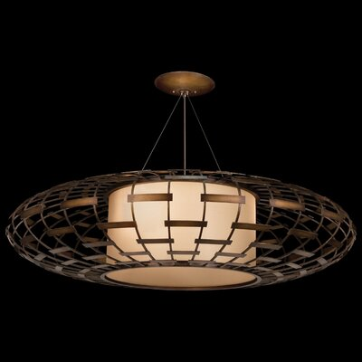 Entourage 3-Light Drum Pendant