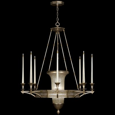 Candlelight 21st Century 11-Light Candle-Style Chandelier Finish: Gold Leaf