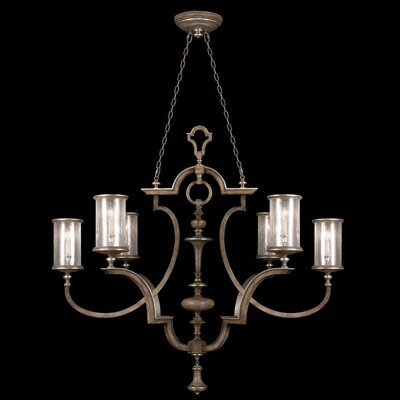 6-Light Candle-Style Chandelier Finish: Driftwood
