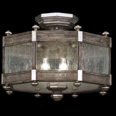 Villa Vista 3-Light Semi-Flush Mount