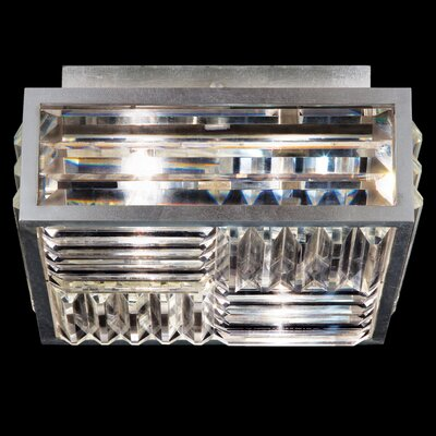 Crystal Enchantmen 2-Light Semi Flush Mount