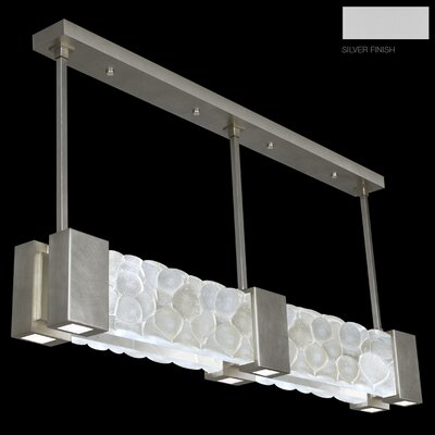 Crystal Bakehouse 6-Light Pendant Finish: Silver