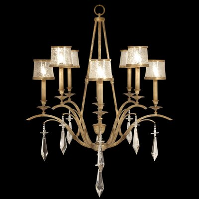 Monte Carlo 8-Light Shaded Chandelier