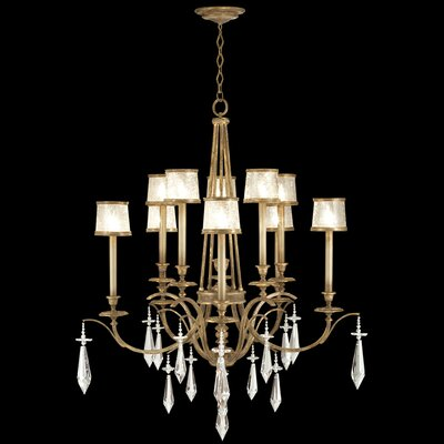 Monte Carlo 10-Light Shaded Chandelier