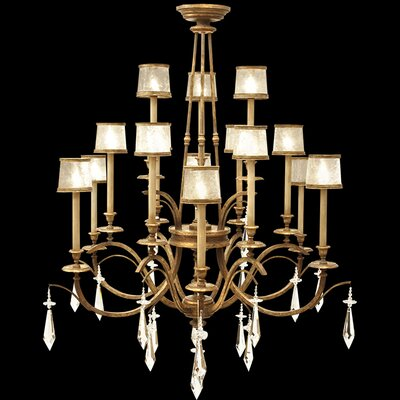 Monte Carlo 15-Light Shaded Chandelier