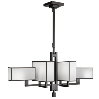 Perspectives 6-Light Kitchen Island Pendant Finish: Silver