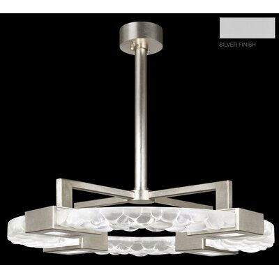 Crystal Bakehouse 4-Light Pendant Finish: Silver