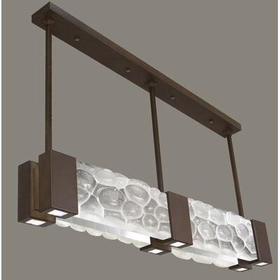 Crystal Bakehouse 6-Light Pendant Finish: Bronze