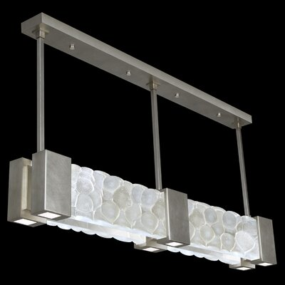 Crystal Bakehouse 6-Light Pendant Finish: Silver Leaf