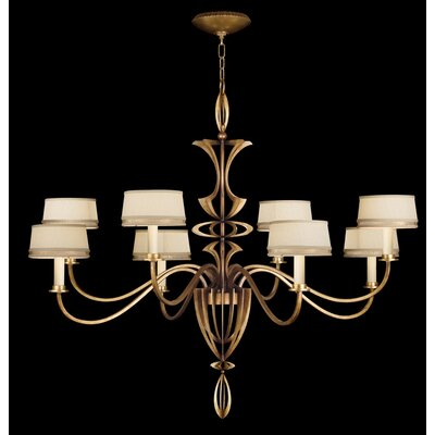 Staccato 8-Light Shaded Chandelier
