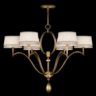 Allegretto 6-Light Drum Chandelier Finish: Gold