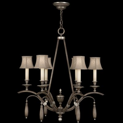 Villa Vista 6-Light Shaded Chandelier