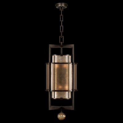 Singapore Moderne 6-Light Foyer Pendant Finish: Muted Silver Leaf