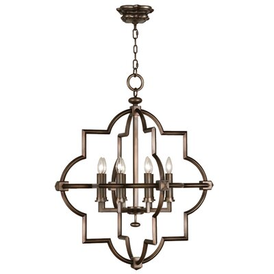 Liaison 8-Light Foyer Pendant Finish: Antique Rubbed Bronze