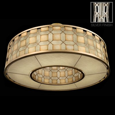 Allegretto 6-Light Drum Pendant