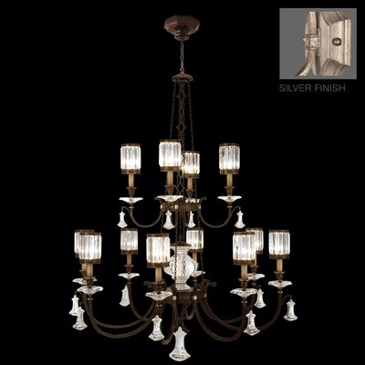 Eaton Place 12-Light Candle-Style Chandelier