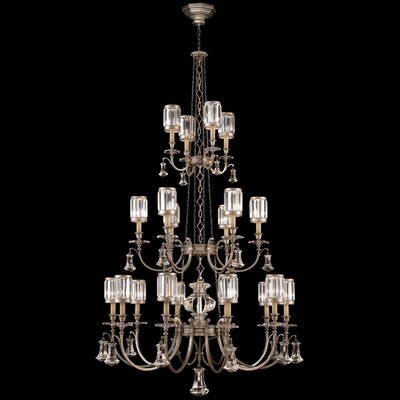 Eaton Place 20-Light Shaded Chandelier