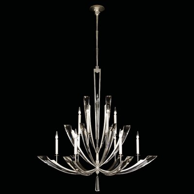 Vol de Cristal 12-Light Candle-Style Chandelier