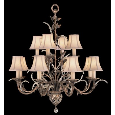 A Midsummer Nights Dream 12-Light Candle-Style Chandelier