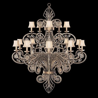 A Midsummer Nights Dream 15-Light Candle-Style Chandelier