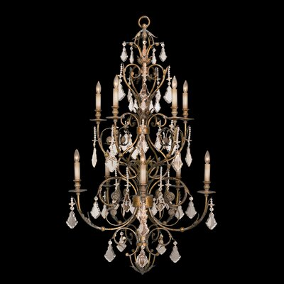 Verona 10-Light Candle-Style Chandelier
