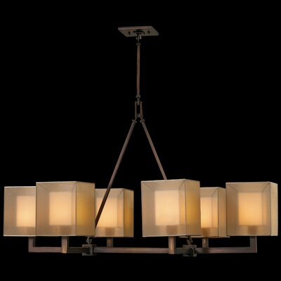 Quadralli 6-Light Candle-Style Chandelier Finish: Bronze
