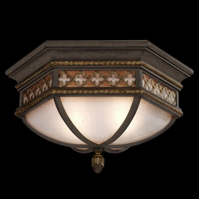 Chateau 2-Light Flush Mount
