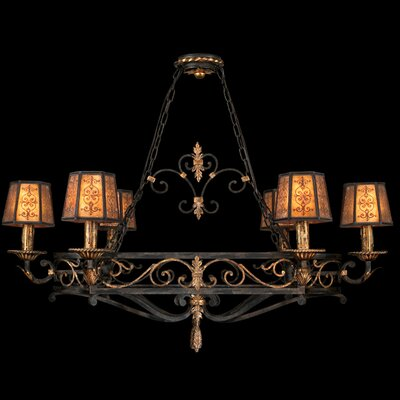 Epicurean 6-Light Candle-Style Chandelier