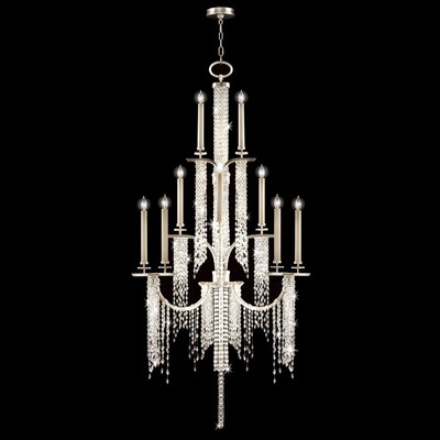 Cascades 16-Light Candle-Style Chandelier
