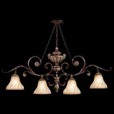 Stile Bellagio 4-Light Kitchen Island Pendant