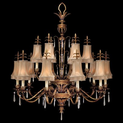 Pastiche 16-Light Shaded Chandelier