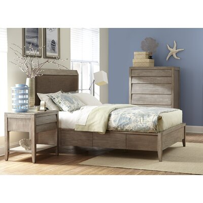 Trawalla Upholstered Panel Bed Size: King